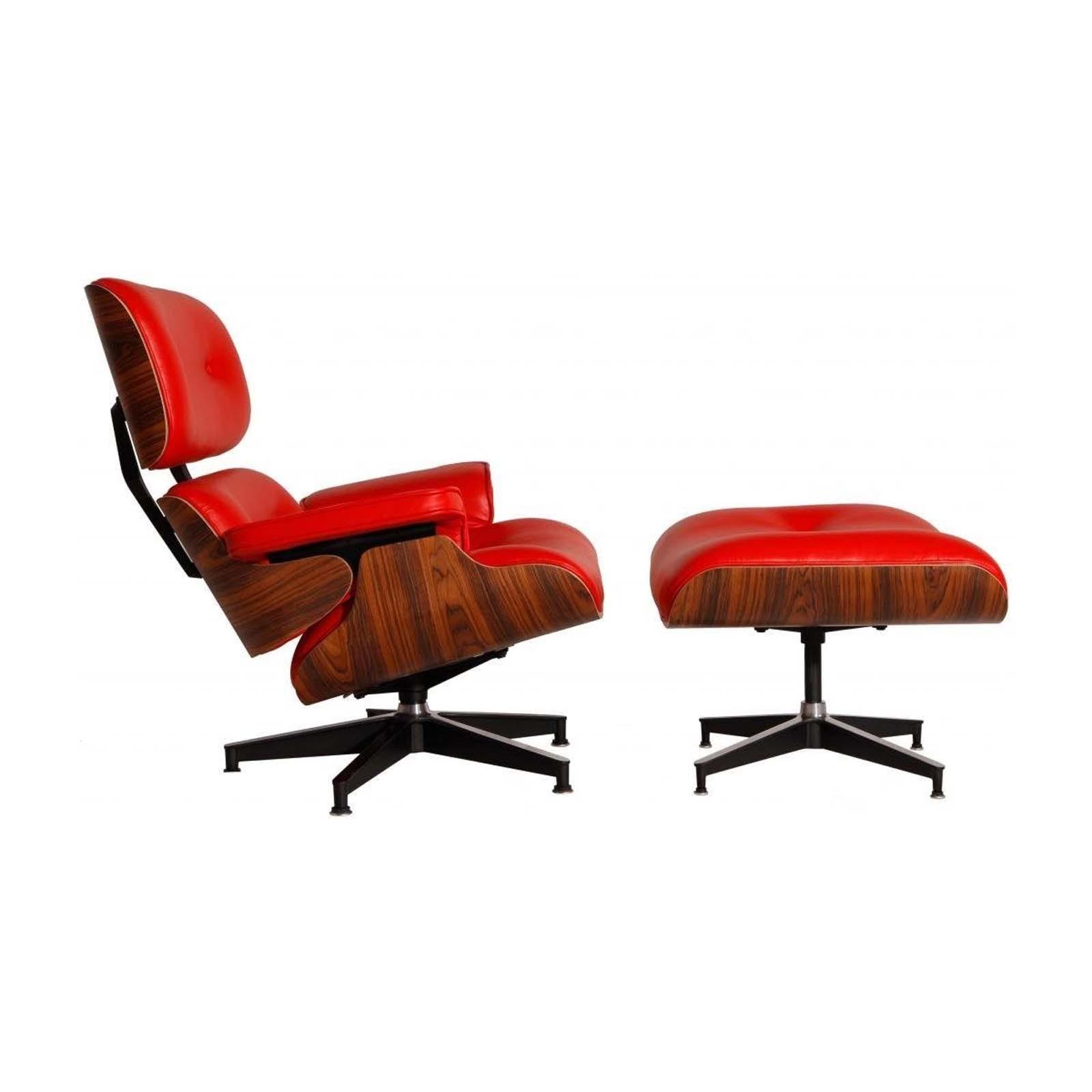 Eames Replica Lounge Stoel.Eames Lounge Chair Ottoman Replica Modterior Usa