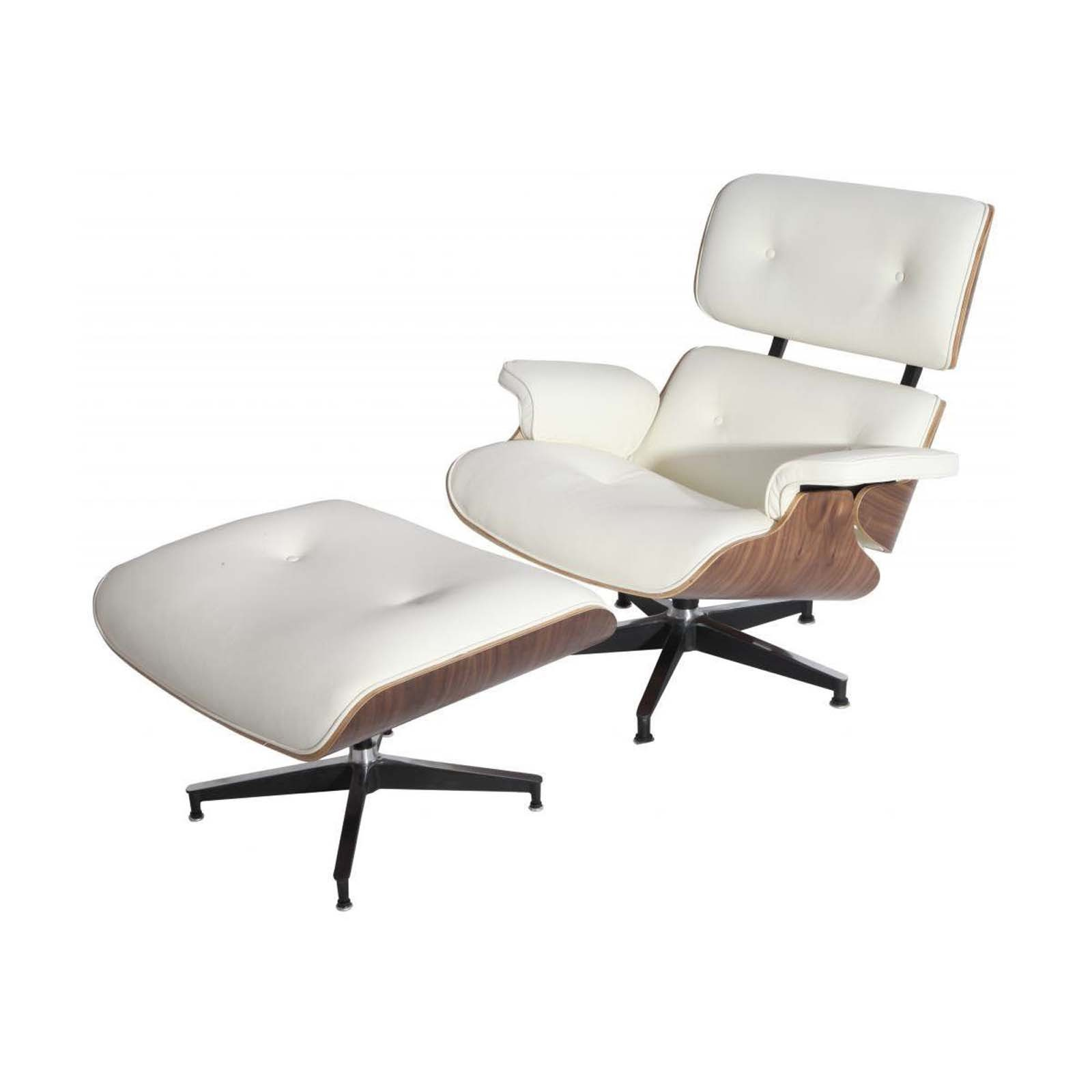 Eames Chair Replica Lounge Chair & Ottoman