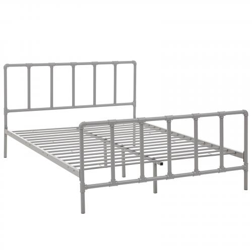 Dower Queen Stainless Steel Bed