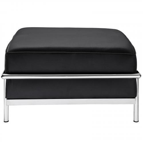 Le Corbusier Style LC3 Ottoman - Leather