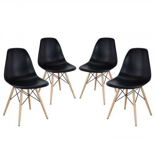 Pyramid Dining Side Chairs Set of 4