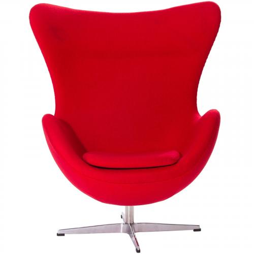 Arne Jacobsen Style Egg Chair - Wool