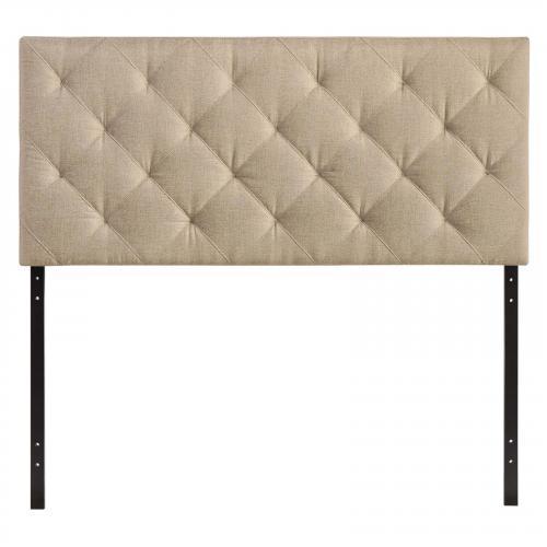 Theodore Queen Fabric Headboard