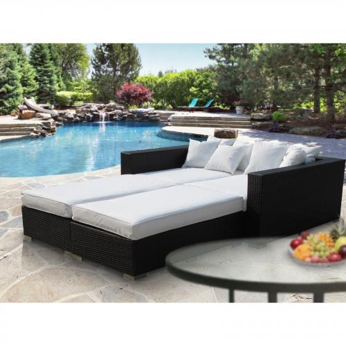 Palisades 4 Piece Outdoor Patio Daybed