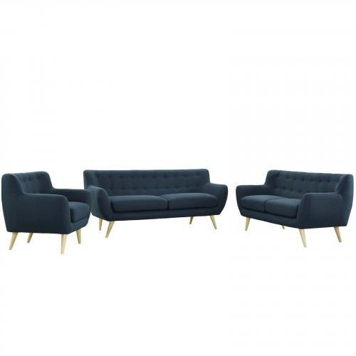 Remark 3 Piece Living Room Set