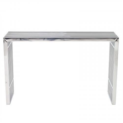 Gridiron Console Table