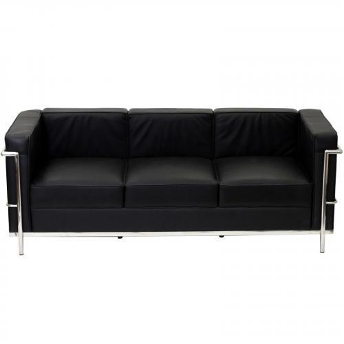 Le Corbusier Style LC2 Sofa - Leather