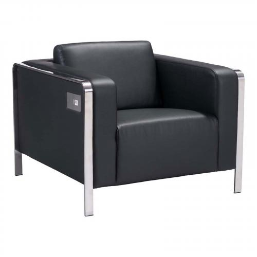 Thor Arm Chair in Black