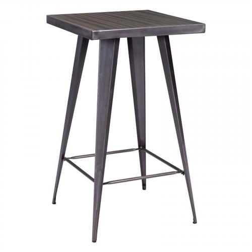 Olympia Bar Table Gunmetal