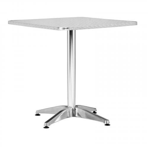 Christabel Square Table Aluminum