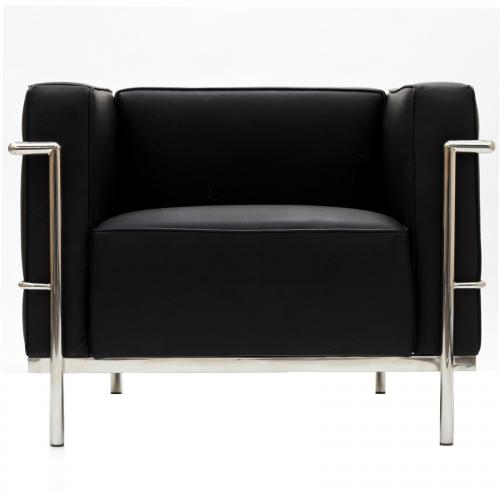 Le Corbusier Style LC3 Arm Chair - Leather
