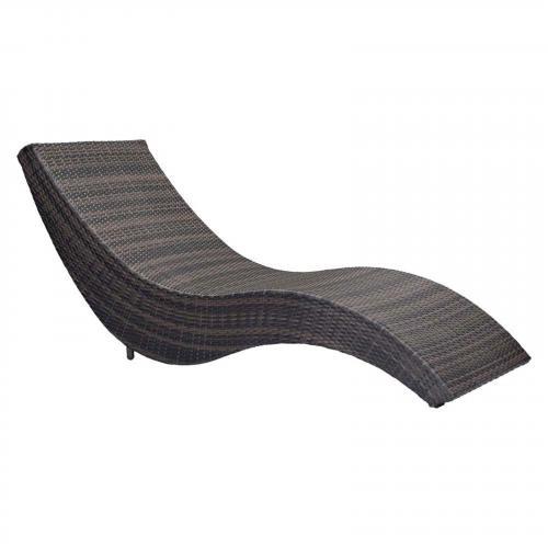 Hassleholtz Beach Chaise Lounge Brown