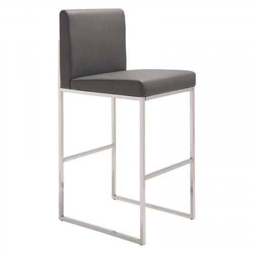 Genoa Bar Stool Gray