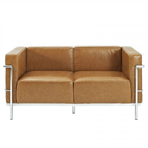 Le Corbusier Style LC3 Loveseat - Leather