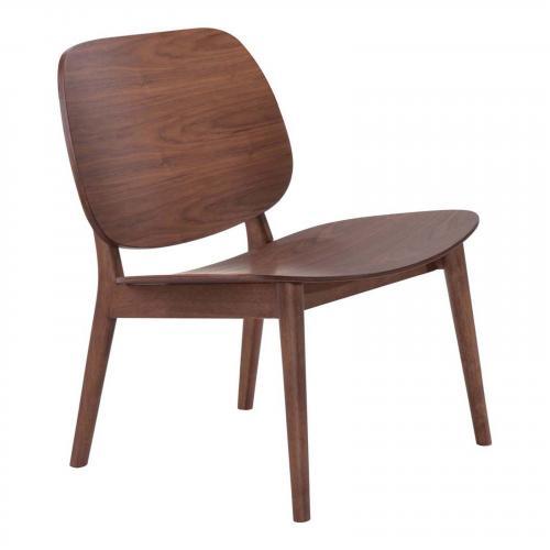 Priest Lounge Chair Walnut Set of 2