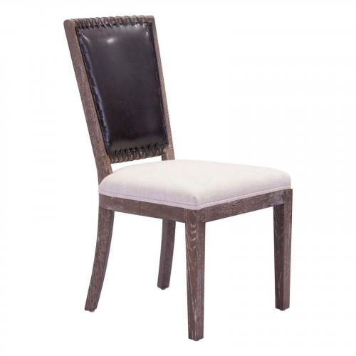Market Dining Chair Brown & Beige