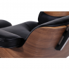 Eames Style Lounge Chair & Ottoman Black Walnut