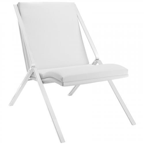 Swing Vinyl Lounge Chair