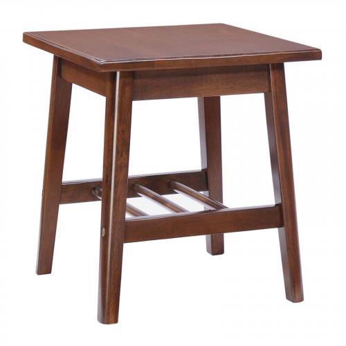 Aventura Side Table Walnut