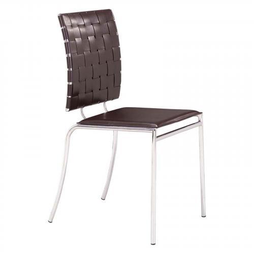 Criss Cross Dining Chair Set of 4