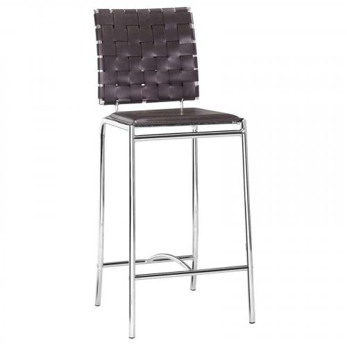 Criss Cross Counter Chair Set of 2
