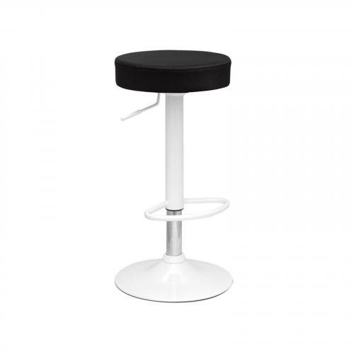 Angle Chrome Bar Stool