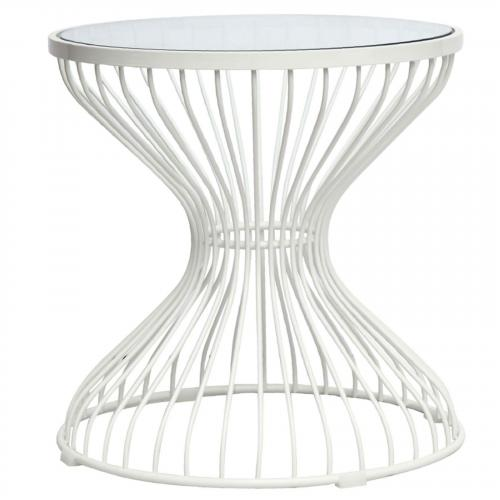 Squeezed Side Table, Glass