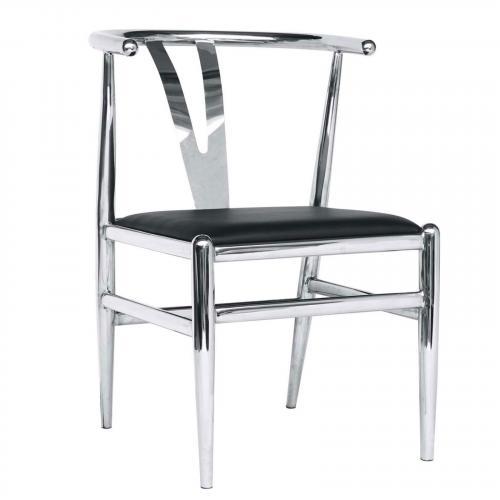 Wishsteel Dining Chair, Black