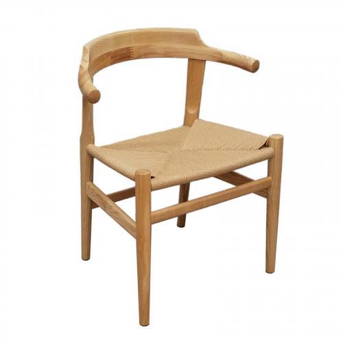 Stringta Natural Hemp Dining Side Chair