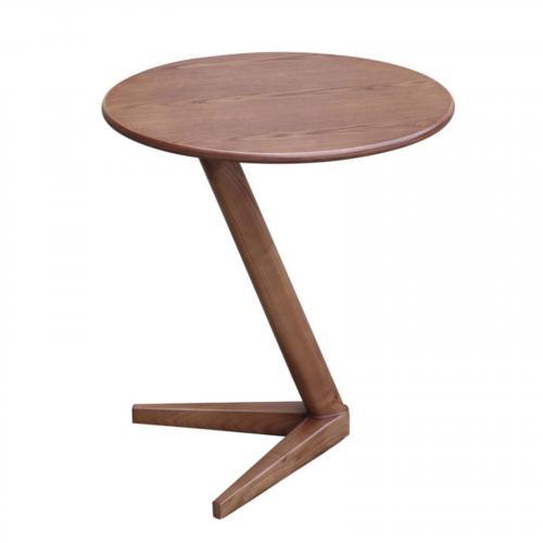 Saint Wood End Table, Walnut