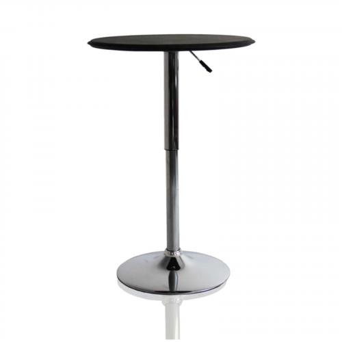 Adjustable Bar Table, Black