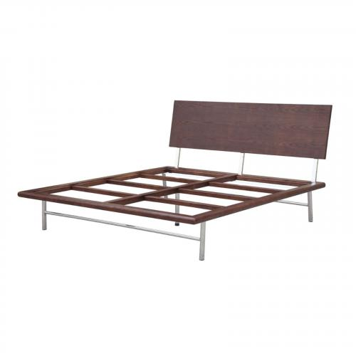 Swab Wooden Bed, Walnut