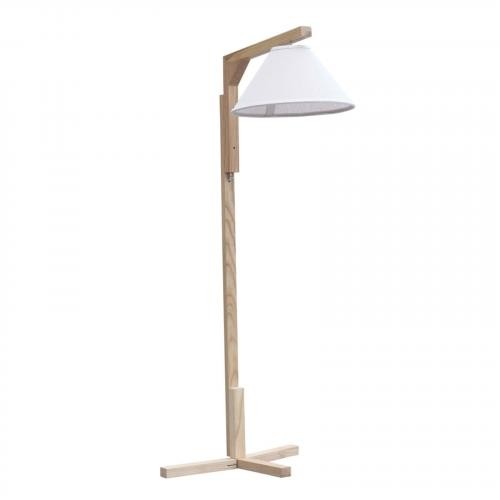 Spiral Floor Lamp, Natural