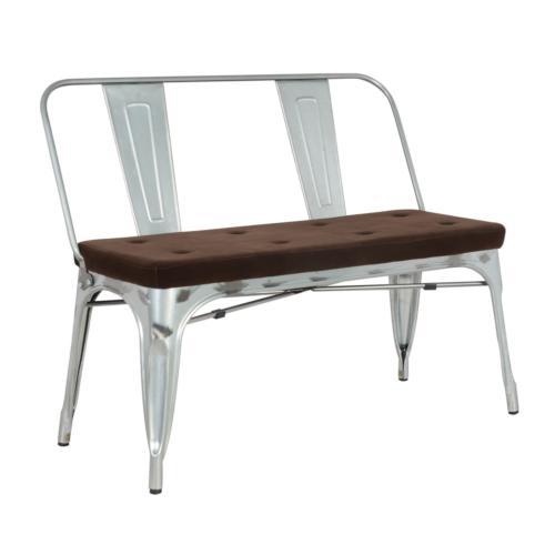 Back Galvanized Lounge