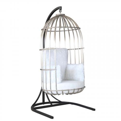 Bird Hanging Chair, White