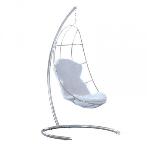 Moon Hanging Chair, White