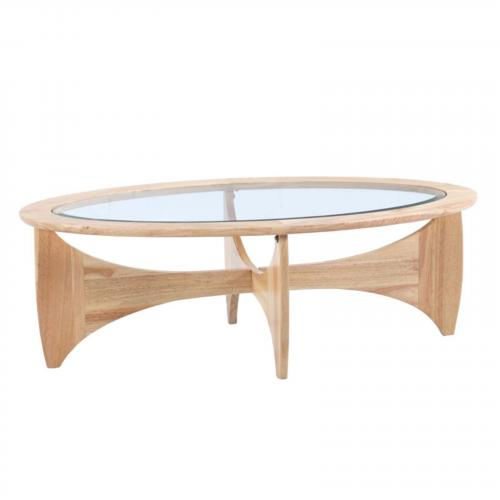 Opec Wooden Coffee Table, Natural