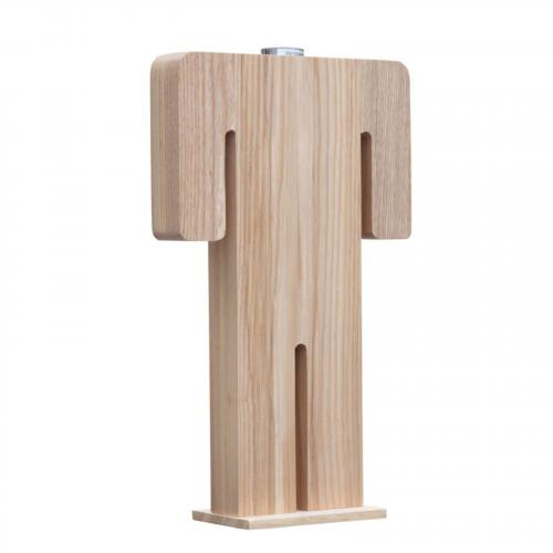 Person Table Lamp Male, Natural
