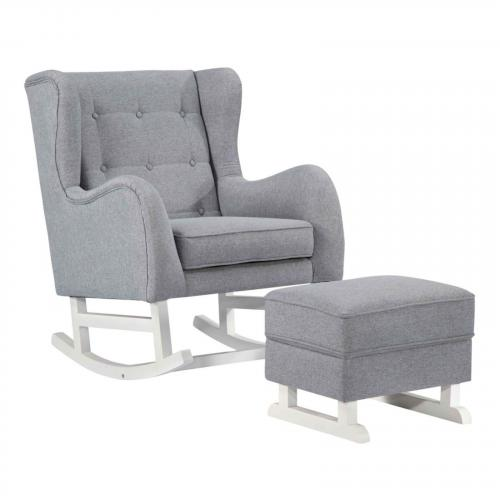Baby Polyester Lounge Chair, Gray