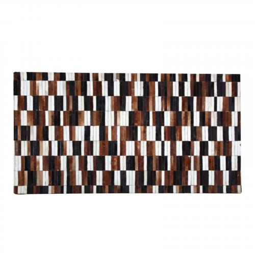 "Columbia 63"" Brown Rug"