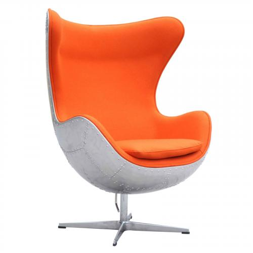 Hardwe Aluminum Chair, Orange