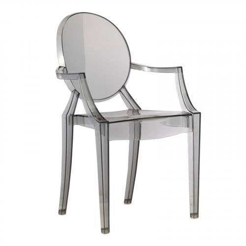Acrylic Dining Arm Chair