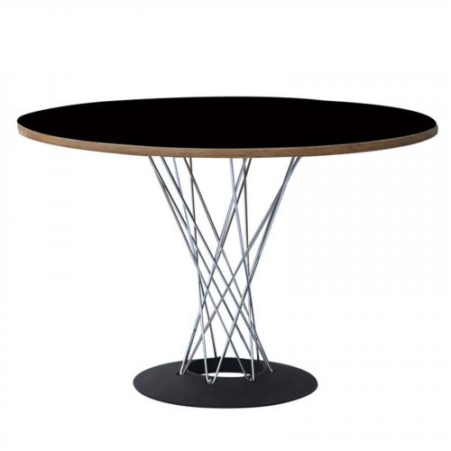 """Wire 42"""" Plywood Dining Table"""