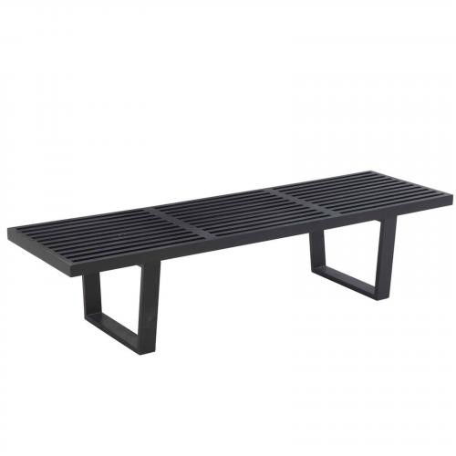 "Wood 60"" Wooden Bench"