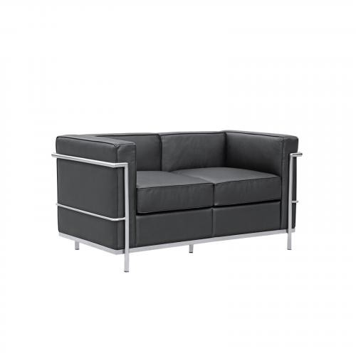 Cube Lc2 Petit Leather Loveseat