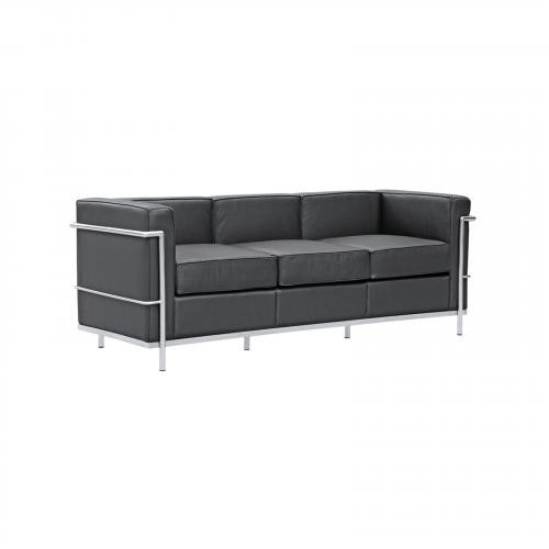 Cube Lc2 Petit Leather Sofa