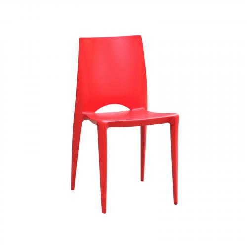 Square ABS Dining Chair