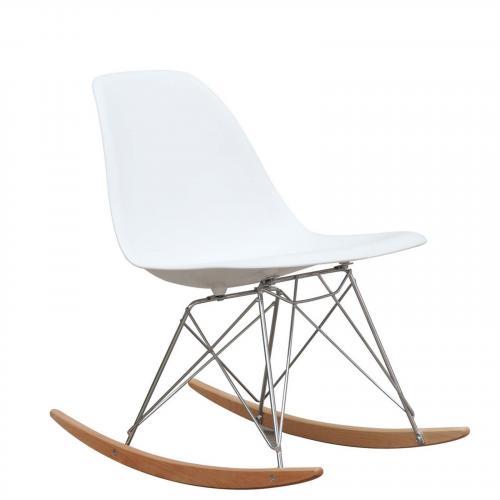 Rocker Side Chair, White