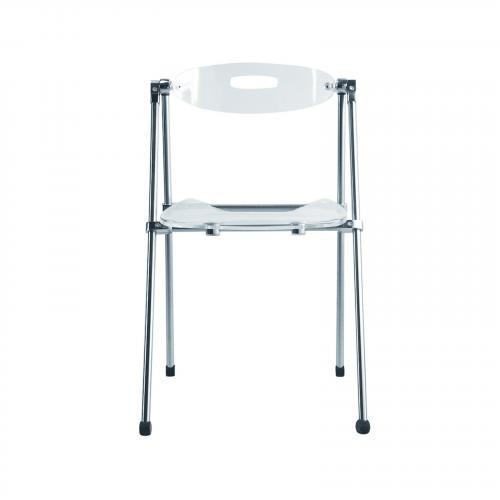 Acrylic Folding Dining Chair