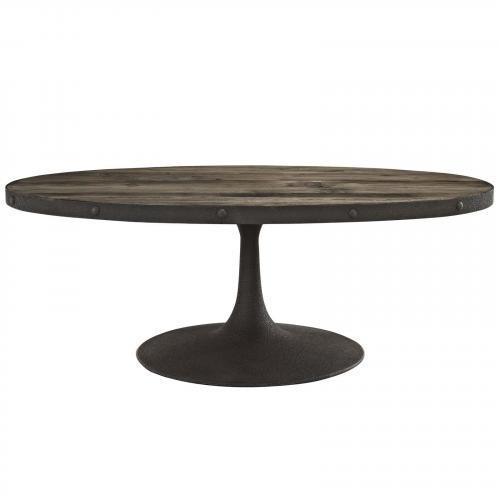 Drive Wood Top Coffee Table